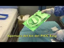 Embedded thumbnail for Impianto di PICC Easy usando pack di inserzione